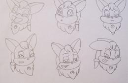 2D Character Design 12