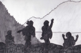 Silhouette Picture-The Kohistan Video Scandal