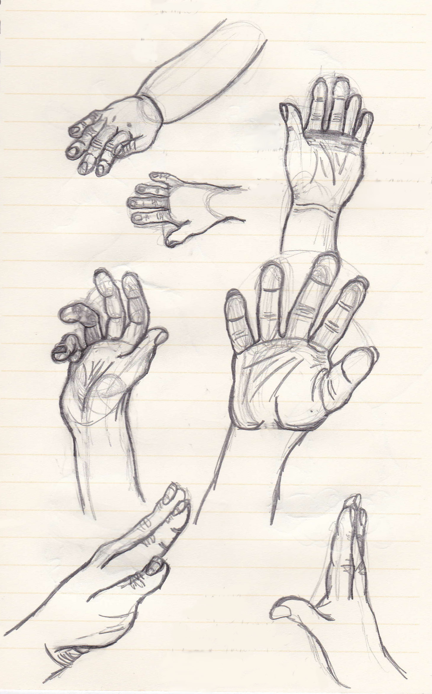 Life Drawing Hands 01